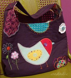 How cute- not just a purse but a work of art!