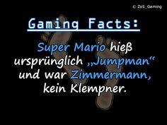 """Super Mario hieß ursprünglich """"Jumpman"""" und war Zimmermann, kein Klempner."""