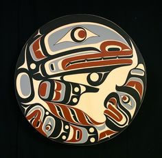 Native Art  Orca