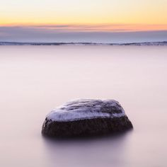 'Frozen stone' by Mikael Svensson on artflakes.com as poster or art print $20.79
