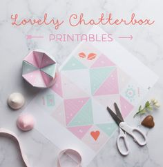Lovely Chatterbox Valentines Day Printables - Tinyme Blog