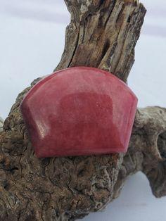 Pink Rhodonite Designer Cabochon by txrockhound on Etsy, $15.00