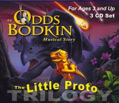 A Childhood Dinosaur Storytelling Epic, The Little Proto Trilogy audio, Parents' Choice Award winner, is perfect for dinosaur-loving kids.