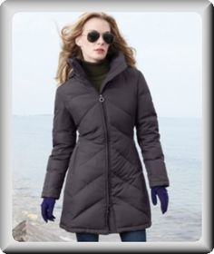 DKNY Coat, Zigzag-Quilted Hooded Puffer - Womens Coats - Macy's ...