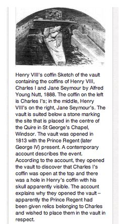 Part 2 of 2 of King Henry VIII's Coffin in St. George's Crypt.