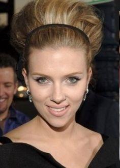 Scarlett Johansson Big hair