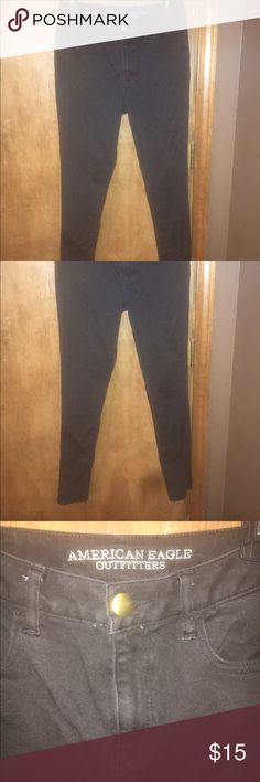 American eagle skinny jeans black Everything I'm selling must go in the next 2 days & I'm willing to bundle. American Eagle Outfitters Pants Skinny