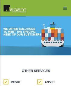 On line il sito web della società Jacam  Svizzera con uffici in Sheikh Zayed Road - Dubai, UAE. . . . #sitiwebticino #2019 #viasottobisio34… Instagram