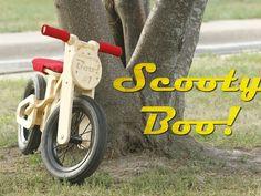 Scooty Boo - The Bamboo Balance Bike by Leo Edwardsson — Kickstarter