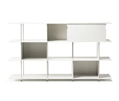 ZETA ALUMINIUM - designer Office shelving systems from OXIT design ✓ all information ✓ high-resolution images ✓ CADs ✓ catalogues ✓ contact..