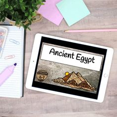 With this no-prep resource, you will teach students about the culture, religion, economics, government, geography, and livelihood of the Ancient Egyptians. You will also discuss how geography impacted their way of life, and how religion, government, and economics shaped the empire. 6th Grade Social Studies, Social Studies Activities, Teacher Created Resources, Differentiation, Upper Elementary, Ancient Egypt, Teacher Pay Teachers, Homeschool, The Unit