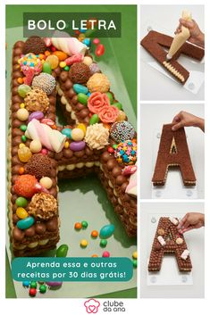 Number Birthday Cakes, Number Cakes, Food Cakes, Macarons, Alphabet Cake, Happy Birthday Mom, Cute Desserts, Arabic Food, Gingerbread