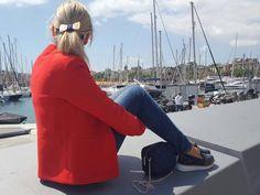 La blogger Tritacones con #slippers #LinceShoes #Lince