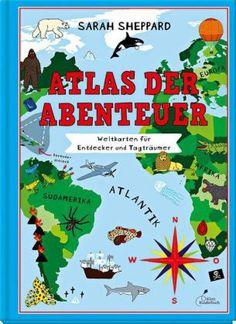 Wo kann man heute noch Gold finden? In welchen Regionen leben sagenumwobene Gestalten? Und wo kann man die höchsten Berge besteigen und größten Meere bereisen? Zum Glück ist es zwar spannend, mit dem Finger über die Landkarten zu wandern, aber auch ungefährlich. Deshalb können kleine Entdecker selbst die Rundreisen zu den aktiven Vulkanen und Erdbebengebieten ganz unbeschadet absolvieren. Viele Sachinformationen und witzige Illustrationen runden diesen Atlas für Abenteurer ab…