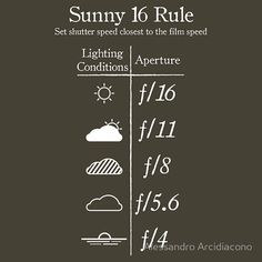 Take3: The Sunny 16 Rule, Lenses, and Free Photoshop Actions!