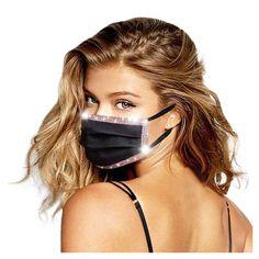 1pc Mund Maske Luxus Design Erwachsene Pailletten Einstellbare Winddic – Swiss Vape Vape, Mask Online, Face Skin Care, Mouth Mask, Sequins, Eco Friendly, Women, Weihnachten Diy, Luxury Designer