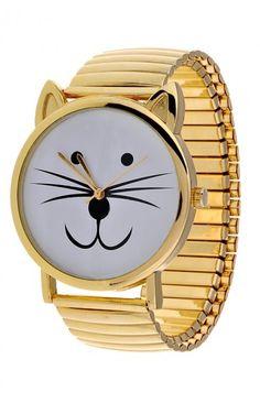 Kitty Watch. Cute!!