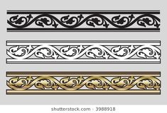 Victorian Style Design Elements (Vector)
