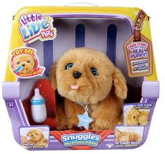 Puppy Little Live Snuggles My Dream Pets New Toy Interactive Dog *ORIGINAL !* #Unbranded