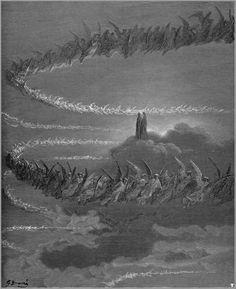 Illustration de l'Enfer de Dante - Gustave Doré (1832-1883)