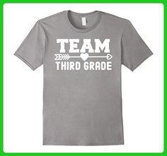 Mens Team 3rd Third Grade Teacher Shirt for Teachers & Kids Large Slate - Careers professions shirts (*Amazon Partner-Link)