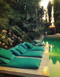 the right place to relax #home swimming pool