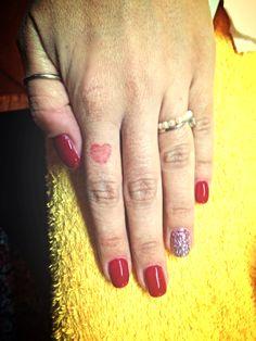 Ricostruzione unghie .. Rosse!!
