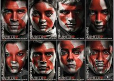 Hunger Games Mockingjay Part 2 characters posters