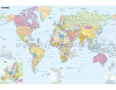 World natural vegetation world maps pinterest geography world political map with cities gumiabroncs Image collections