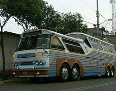 Bus Motorhome, Bus Camper, Old Ford Trucks, Big Rig Trucks, Hydrogen Fuel, Bus Coach, Old Fords, Busses, Bobber