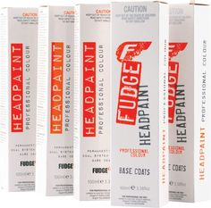 Fudge Headpaint 100ml Base Colours 60ml Toners