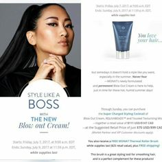 I love weekends for so many reasons! Monats flash sales are one of those reasons.  The wait is over...Blow Out Cream is now a permanent part of the MONAT product line, and now formulated with our signature ingredients.  Retail only cusomers pay $99 VIP customers pay $89  Market Partners pay $69   If that's not awesome enough...we have a great offer through Sunday...while supplies last!! Message me to sign as VIP or MP or use the Shop Link