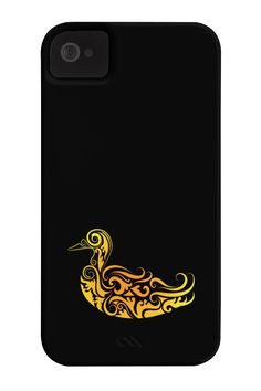 Duck floral ornament decoration Phone Case for iPhone 4/4s,5/5s/5c, iPod Touch…
