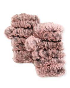 D2Z9G Jocelyn Fingerless Fur Mittens