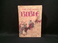 The Children's Bible 1973. Nineteenth printing. Hardcover 510 pp Golden Press