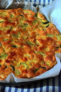 L'Antro dell'Alchimista: Frittata di Zucchine e Pancetta al Forno - Zucchini and Bacon Omelette baked in the oven