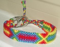 """Link has a couple of options for how to tie the end of friendship bracelets and """"buckle"""" them on."""