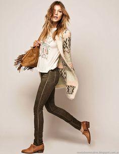 Moda y Tendencias en Buenos Aires : MODA URBANA OTOÑO INVIERNO 2015: CUESTA BLANCA ROPA DE MUJER