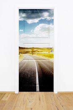 Fototapeta / naklejka na drzwi w dowolnym formacie - droga.