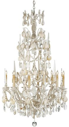 Large Buttermere Chandelier design by Currey & Company