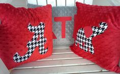 personalized minky sports team set of 3 applique by sweetflutters, $45.00