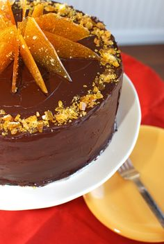 orange cake and chocolate - Căutare Google