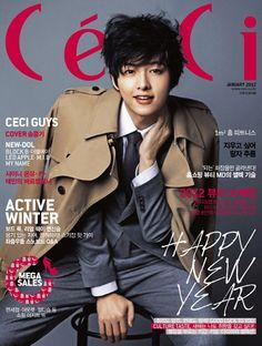 Song Joong Ki - Ceci Magazine January Issue '12