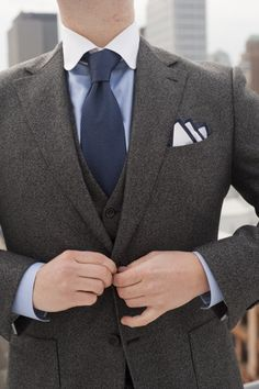 Donegal Wool/Cashmere 3 Piece,