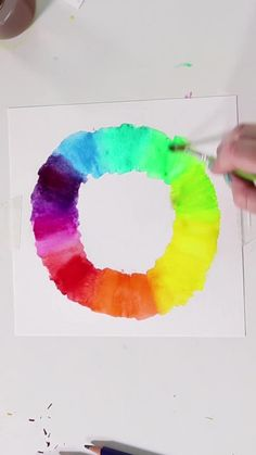Watercolor Art Kids, Watercolor Video, Watercolor Pencils Techniques, Watercolour Tutorials, Art Drawings For Kids, Art For Kids, Coloring Tutorial, Art For Sale Online, Aesthetic Iphone Wallpaper