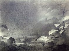 Visual Development from Bambi by Tyrus Wong