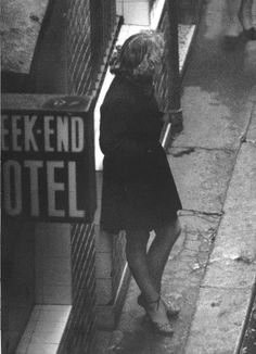 Robert DOISNEAU :: Prostitute in the Streets of Paris - 1960's
