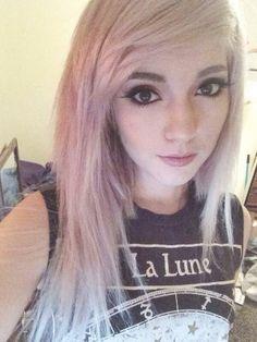ledamonsterbunny pink white hair leda muir