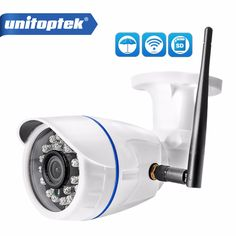 Cheap outdoor, Buy Quality security camera onvif directly from China camera tf Suppliers: HD WIFI IP Camera Outdoor Wireless Surveillance Home Security Camera Onvif CCTV Camera TF Card Slot app CamHi Cctv Security Cameras, Security Surveillance, Security Alarm, Security Cameras For Home, Security Service, House Security, Surveillance System, Wifi, Home Cctv