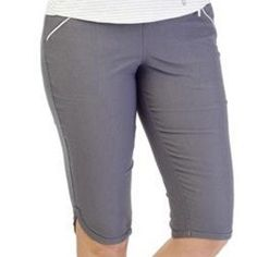 Spring is here!  Our latest women's golf clothing arrival....  http://www.fromtheredtees.net/products/fab-fit-smoke-short?utm_campaign=social_autopilot&utm_source=pin&utm_medium=pin